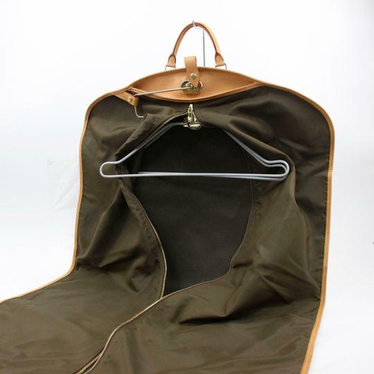 Louis Vuitton Garment Hanger Suit Keepall Duffle Brown Travel Bag Image 2