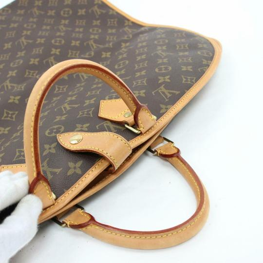 Louis Vuitton Garment Hanger Suit Keepall Duffle Brown Travel Bag Image 9