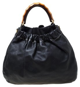 Miu Miu Leather Hobo Bag