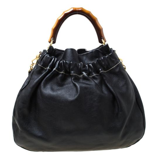 Miu Miu Leather Hobo Bag Image 1