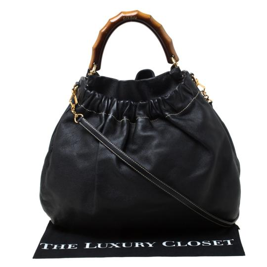 Miu Miu Leather Hobo Bag Image 10