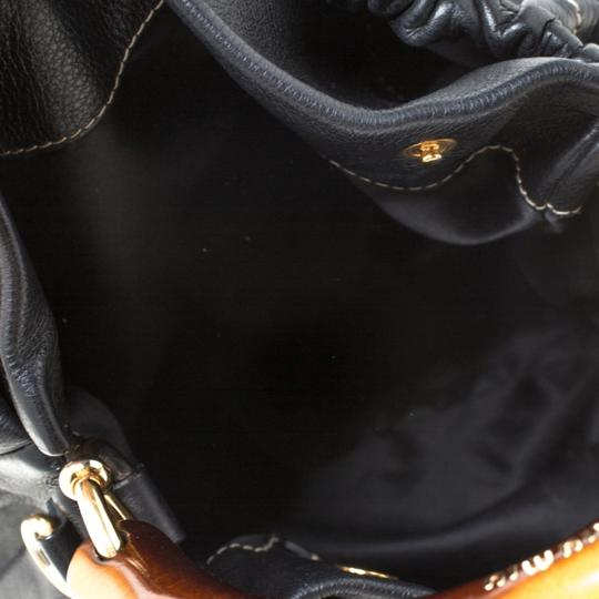 Miu Miu Leather Hobo Bag Image 7