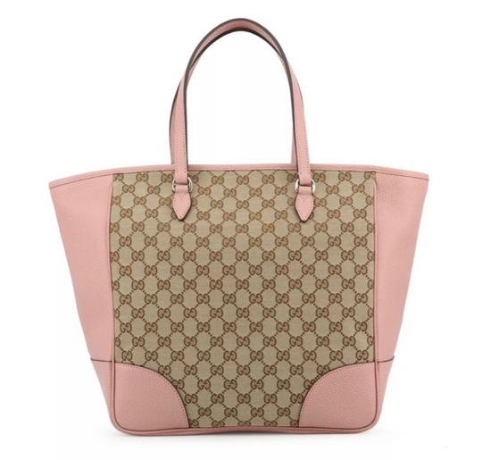 Preload https://img-static.tradesy.com/item/25958000/gucci-bree-gg-canvas-pink-leather-tote-0-0-540-540.jpg