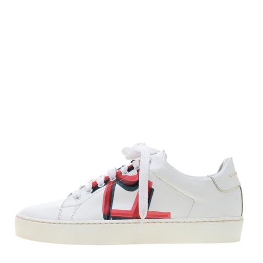Burberry Leather White Athletic Image 1