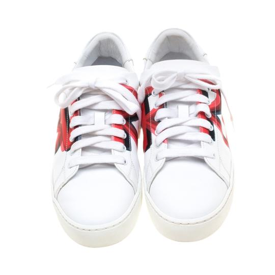 Burberry Leather White Athletic Image 2