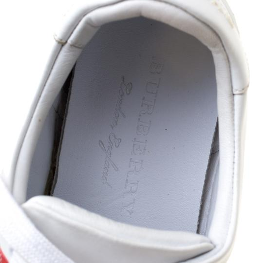 Burberry Leather White Athletic Image 6