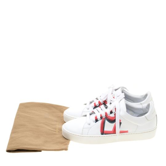 Burberry Leather White Athletic Image 7