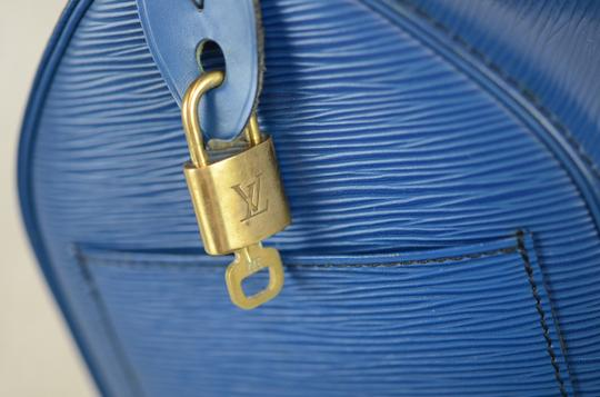 Louis Vuitton Lv Speedy Epi 25 Neverfull Tote in Blue Image 10