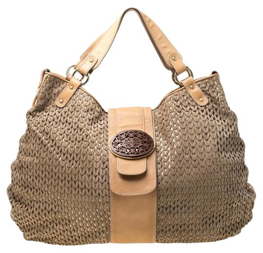 Preload https://img-static.tradesy.com/item/25958021/emporio-armani-beigelight-brown-lasercut-beige-suede-and-leather-hobo-bag-0-1-540-540.jpg
