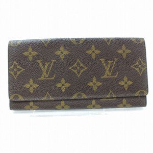 Louis Vuitton Monogram Long Flap Wallet 871281