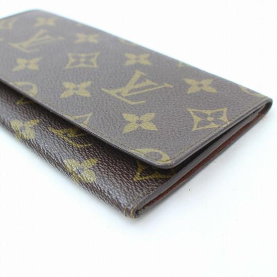 Louis Vuitton Monogram Long Flap Wallet 871281 Image 11