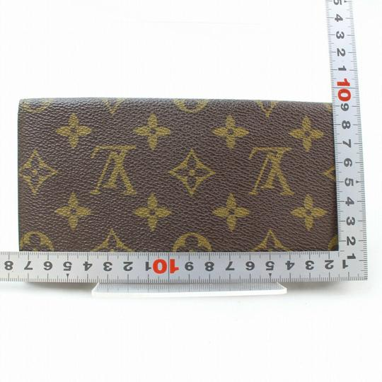 Louis Vuitton Monogram Long Flap Wallet 871281 Image 5