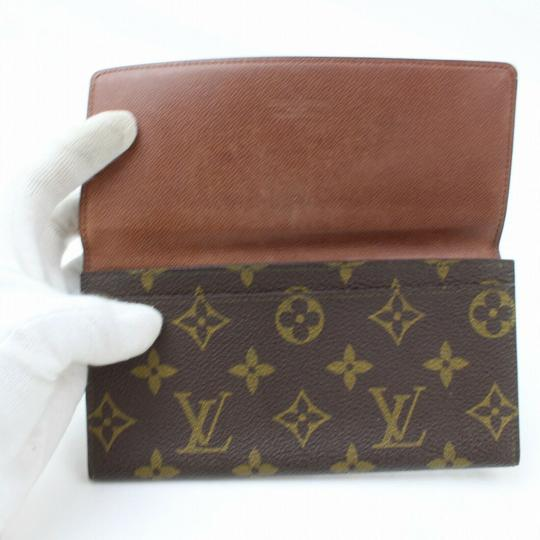 Louis Vuitton Monogram Long Flap Wallet 871281 Image 6