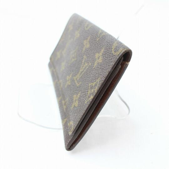 Louis Vuitton Monogram Long Flap Wallet 871281 Image 8