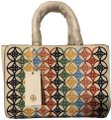 Tory Burch Robinson Embroidered Tote in Multi Image 0