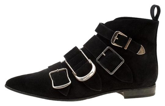 Preload https://img-static.tradesy.com/item/25958034/burberry-black-suede-milner-buckle-detail-pointed-toe-ankle-bootsbooties-size-eu-40-approx-us-10-reg-0-1-540-540.jpg
