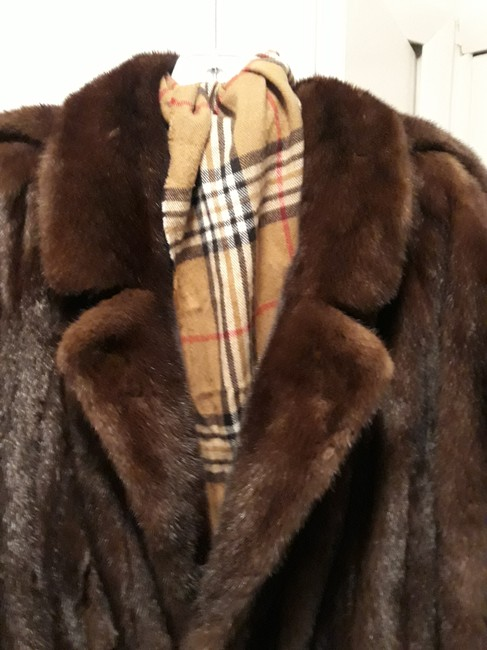 Preload https://item5.tradesy.com/images/mahogany-double-breasted-coat-size-os-25958044-0-0.jpg?width=400&height=650