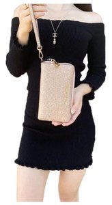 Michael Kors Womens Accessories Wristlet in Rose Gold