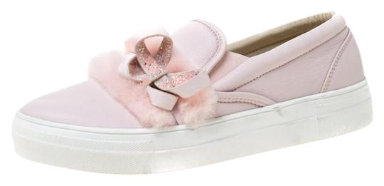 Preload https://img-static.tradesy.com/item/25958080/sophia-webster-pink-leather-and-faux-fur-bella-embellished-bow-slip-on-sneakers-size-eu-39-approx-us-0-1-540-540.jpg