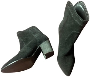 Ivanka Trump Suede Leather Ankle black Boots