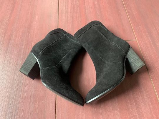 Ivanka Trump Suede Leather Ankle black Boots Image 5