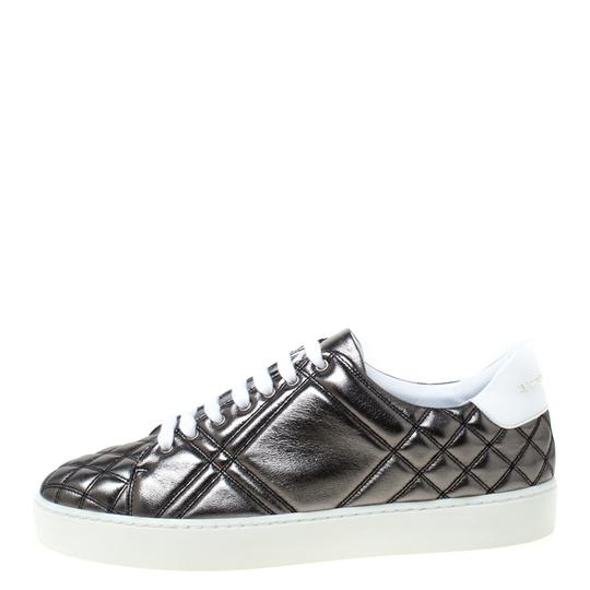 Burberry Quilted Leather Metallic Athletic Image 1