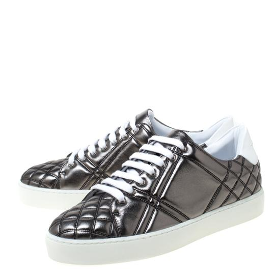 Burberry Quilted Leather Metallic Athletic Image 3