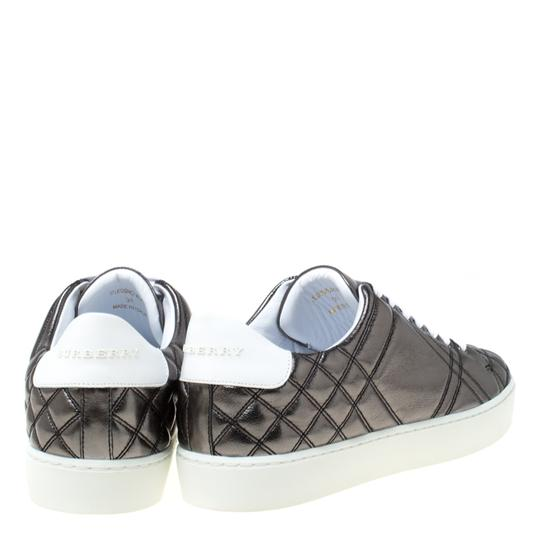 Burberry Quilted Leather Metallic Athletic Image 4
