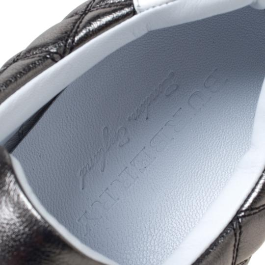 Burberry Quilted Leather Metallic Athletic Image 6