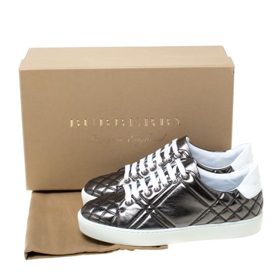 Burberry Quilted Leather Metallic Athletic Image 7