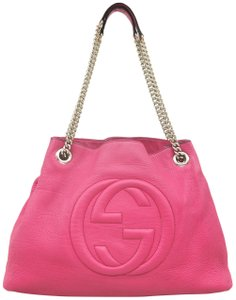 Gucci Soho Calfskin Shoulder Bag