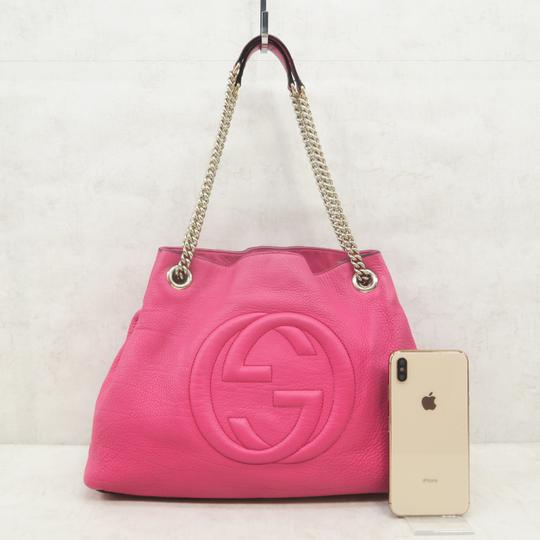 Gucci Soho Calfskin Shoulder Bag Image 1
