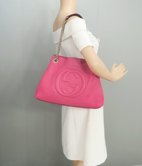 Gucci Soho Calfskin Shoulder Bag Image 11