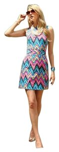 Lilly Pulitzer short dress Pink, Yellow, and Blue. on Tradesy