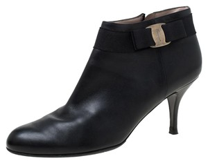 Salvatore Ferragamo Leather Black Boots