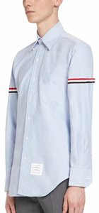 Thom Browne Button Down Shirt Blue