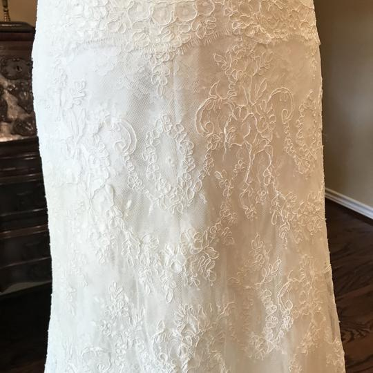 Monique Lhuillier Ivory Bliss #1208 Bl1208 Traditional Wedding Dress Size 6 (S) Image 5