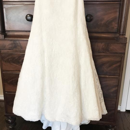 Monique Lhuillier Ivory Bliss #1208 Bl1208 Traditional Wedding Dress Size 6 (S) Image 7