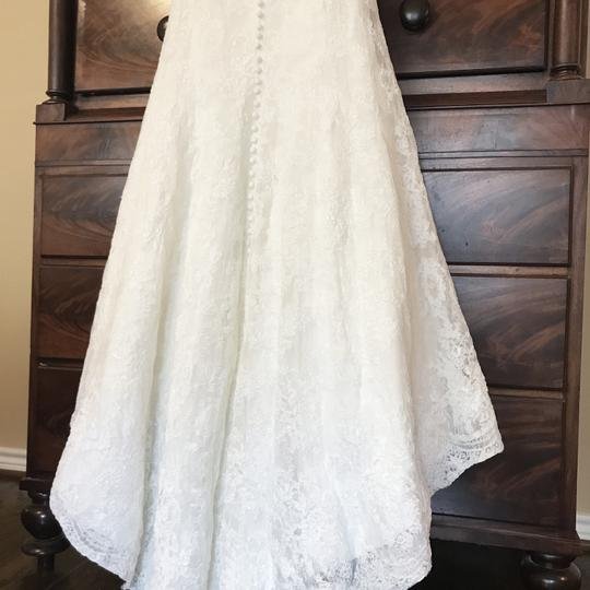 Monique Lhuillier Ivory Bliss #1208 Bl1208 Traditional Wedding Dress Size 6 (S) Image 8
