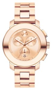 Movado Bold Stainless Steel Chronograph 3600077