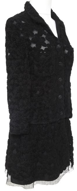 Chanel Knit Camellias Long Sleeve Floral Cardigan Image 2