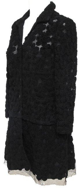 Chanel Knit Camellias Long Sleeve Floral Cardigan Image 3