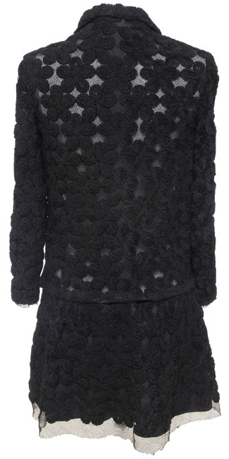 Chanel Knit Camellias Long Sleeve Floral Cardigan Image 9