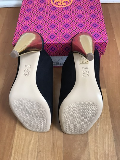Tory Burch Black suede with gold heel Mules Image 9