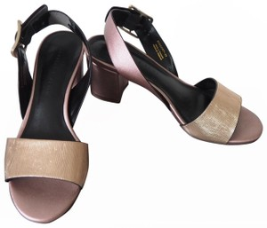Charles & Keith Rose Gold Sandals