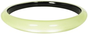 Alexis Bittar ALEXIS BITTAR Light Yellow Lucite Tapered Bangle Bracelet