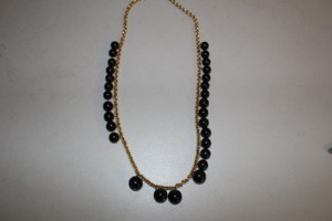 Kenneth Jay Lane NEW GORGEOUS KENNETH JAY LANE GOLD TONE BEADED NECKLACE $125