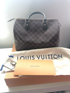Louis Vuitton Speedy Monogram Speedy 30 Tote in Damier