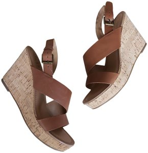 Franco Sarto Chestnut Brown Sandals