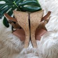 Franco Sarto Chestnut Brown Sandals Image 2